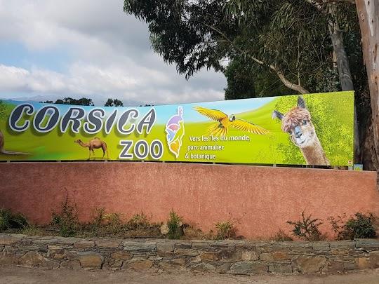 Enseigne pour CORSICA ZOO, parc animalier à Olmeta-di-Tuda. De la création du visuel, en passant par la fabrication en atelier et jusqu'à la pose, par l'équipe PANO Bastia