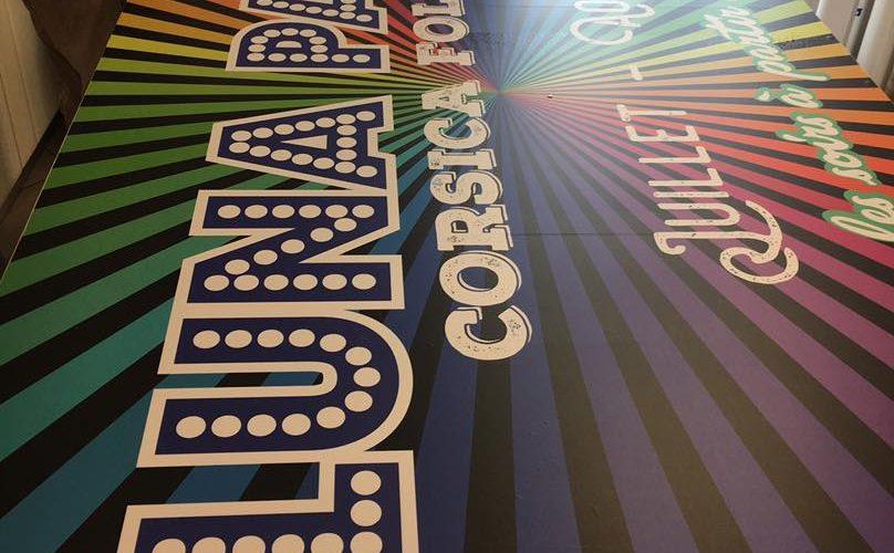PANO Bastia Publié par Julia Ercoli · 12 juillet, 16:33 ·  Création d'un panneau pour la promotion de nos amis du Luna Park à Bastia !  Par l'équipe Pano Bastia / Corse Régipub à Biguglia