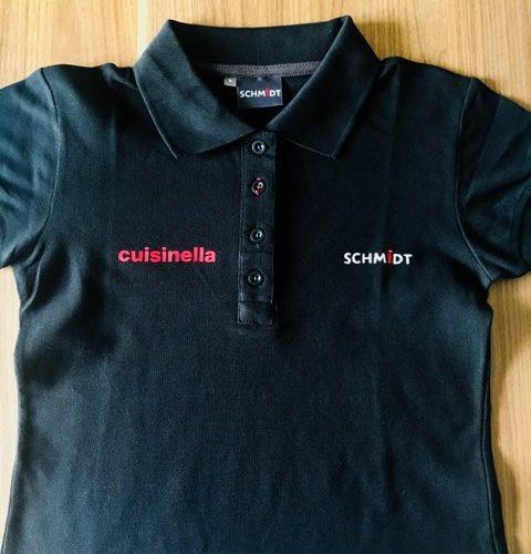 Marquage textile pour le groupe Fanti ( Cuisinella et Schmidt) à Biguglia