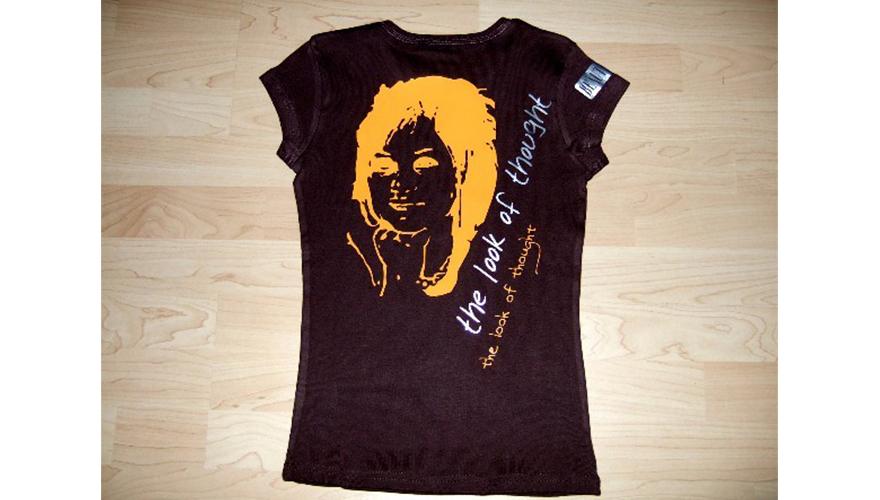 Flocage sur tee shirt 2 couleurs Ajaccio